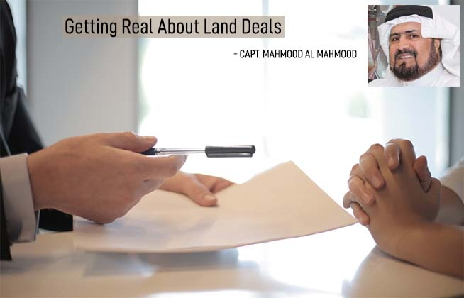 Getting real about land deals