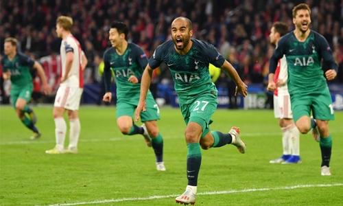 Spurs comeback stuns Ajax