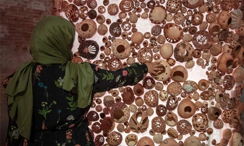 Saudi artist goes back to her roots for installation at the Venice Biennale