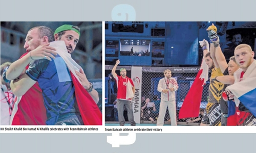 Seven home athletes advance to IMMAF Worlds as Team Bahrain's win streak continues