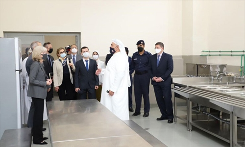 Ambassadors to Bahrain briefed on services for prison inmates