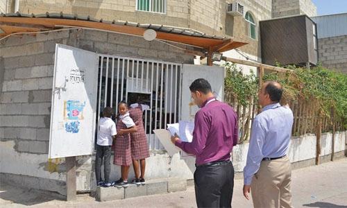 Seven home shops shutdown in Hamad Town