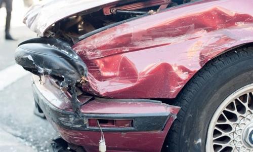 Expat injured in car mishap