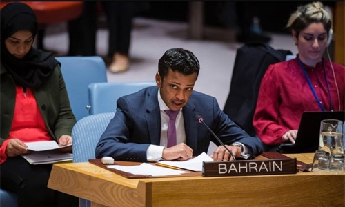 Bahrain reiterates support for Palestinian people's rights