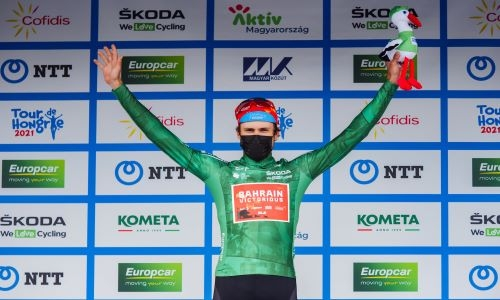Bauhaus secures Green Jersey in Hungary for Team Bahrain Victorious