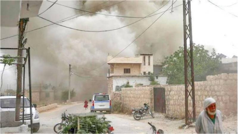Children among 14 killed in northwest Syria strikes