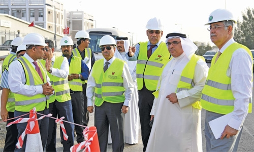 Wali Al Ahad highway project 60% completed